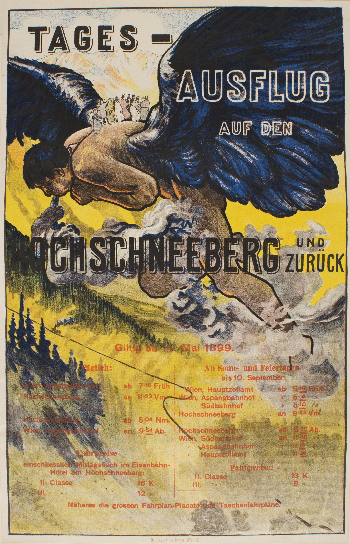 Alfred Roller - Tages-Ausflug auf den Hochschneeberg und Zurück - 1899