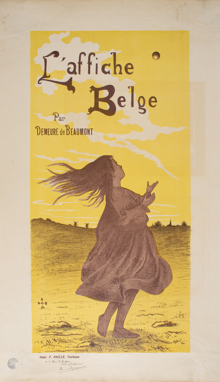 Alexandre Demeure de Beaumont - L'Affiche Belge - 1896