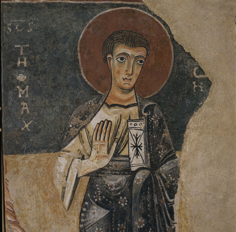 Anònim. Catalunya - Apòstols d'Orcau - Primera meitat del segle XII [2]
