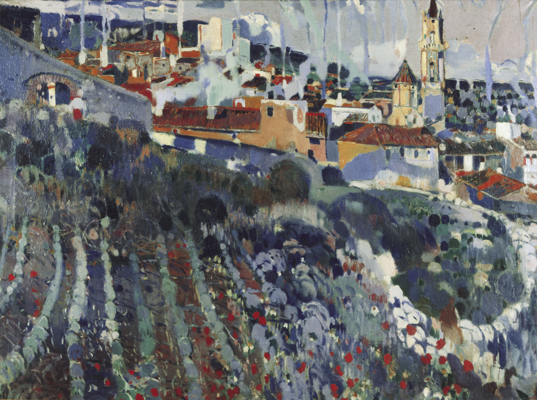 Joaquim Mir - Terraced Village - Circa 1906-1909
