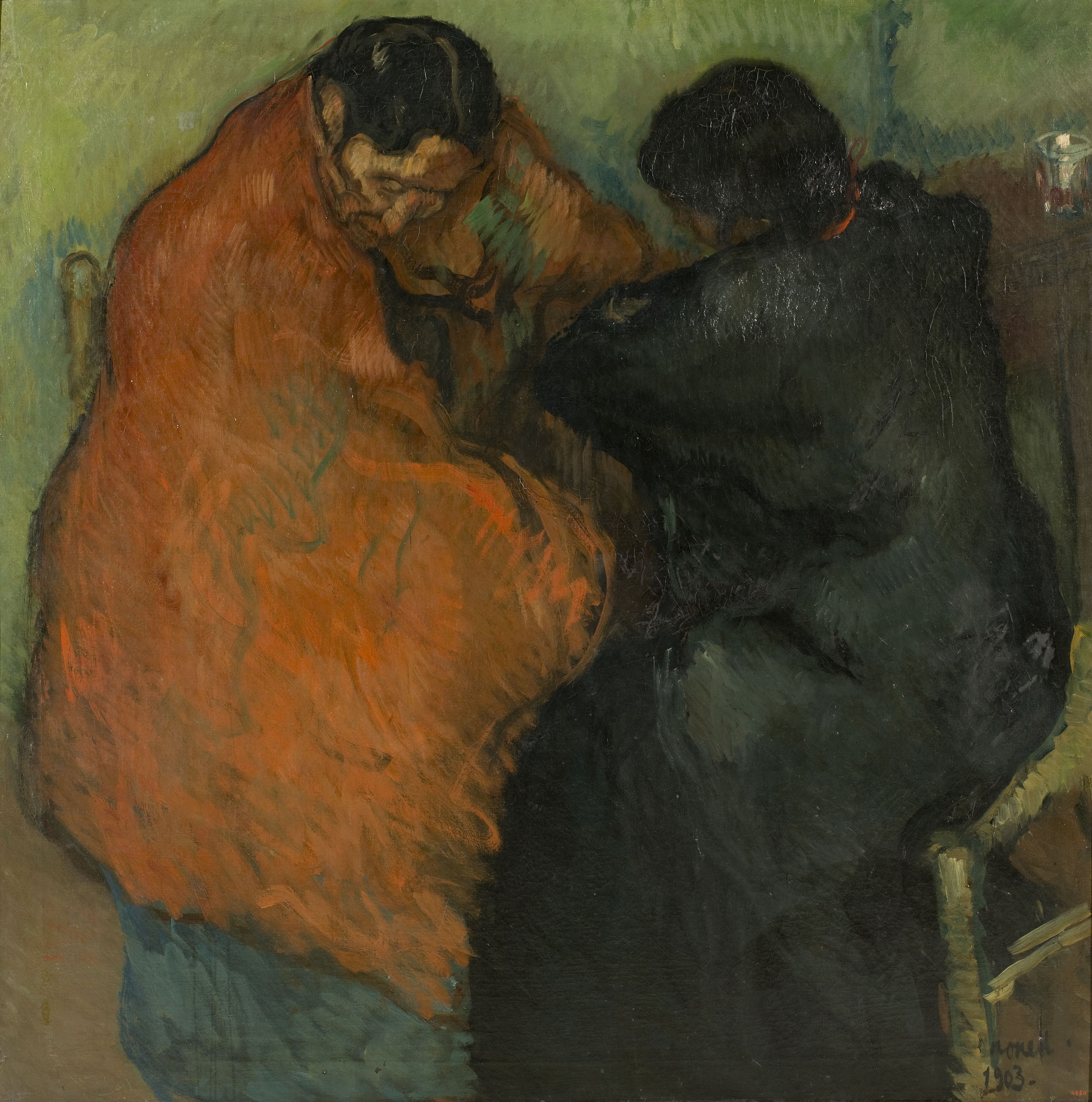 Isidre Nonell - Two Gypsy Women - Barcelona, 1903