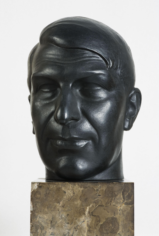 Pablo Gargallo - Portrait of the Painter Xavier Nogués - 1924