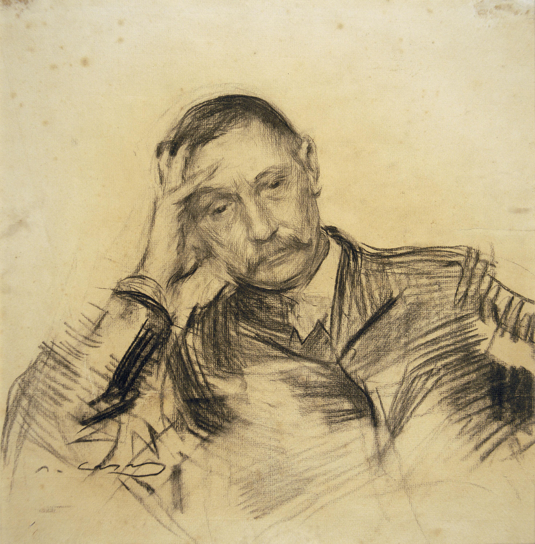 Ramon Casas - Retrat de Benito Pérez Galdós - Cap a 1903