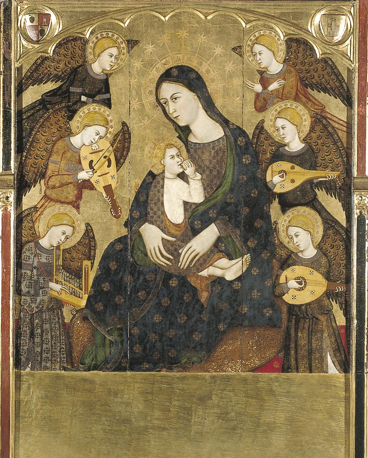 Llorenç Saragossà - Mare de Déu de la Llet - Últim quart del segle XIV