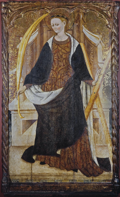 Mestre d'All (Ramon Gonçalbo ?) - Santa Eulàlia - Tercer quart del segle XV