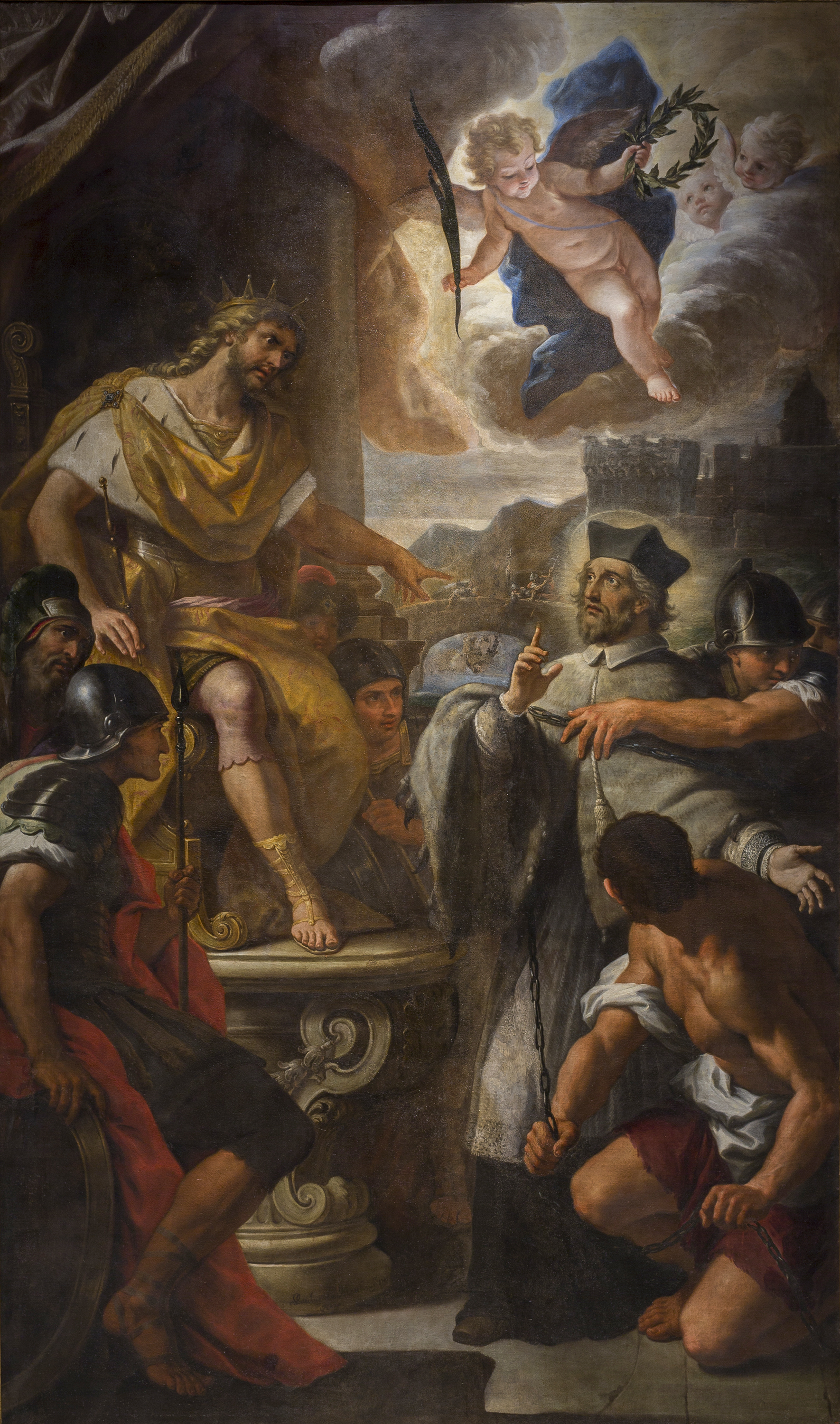 Paolo de Matteis - King Wenceslaus IV Sentences Saint John of Nepomuk - 1710