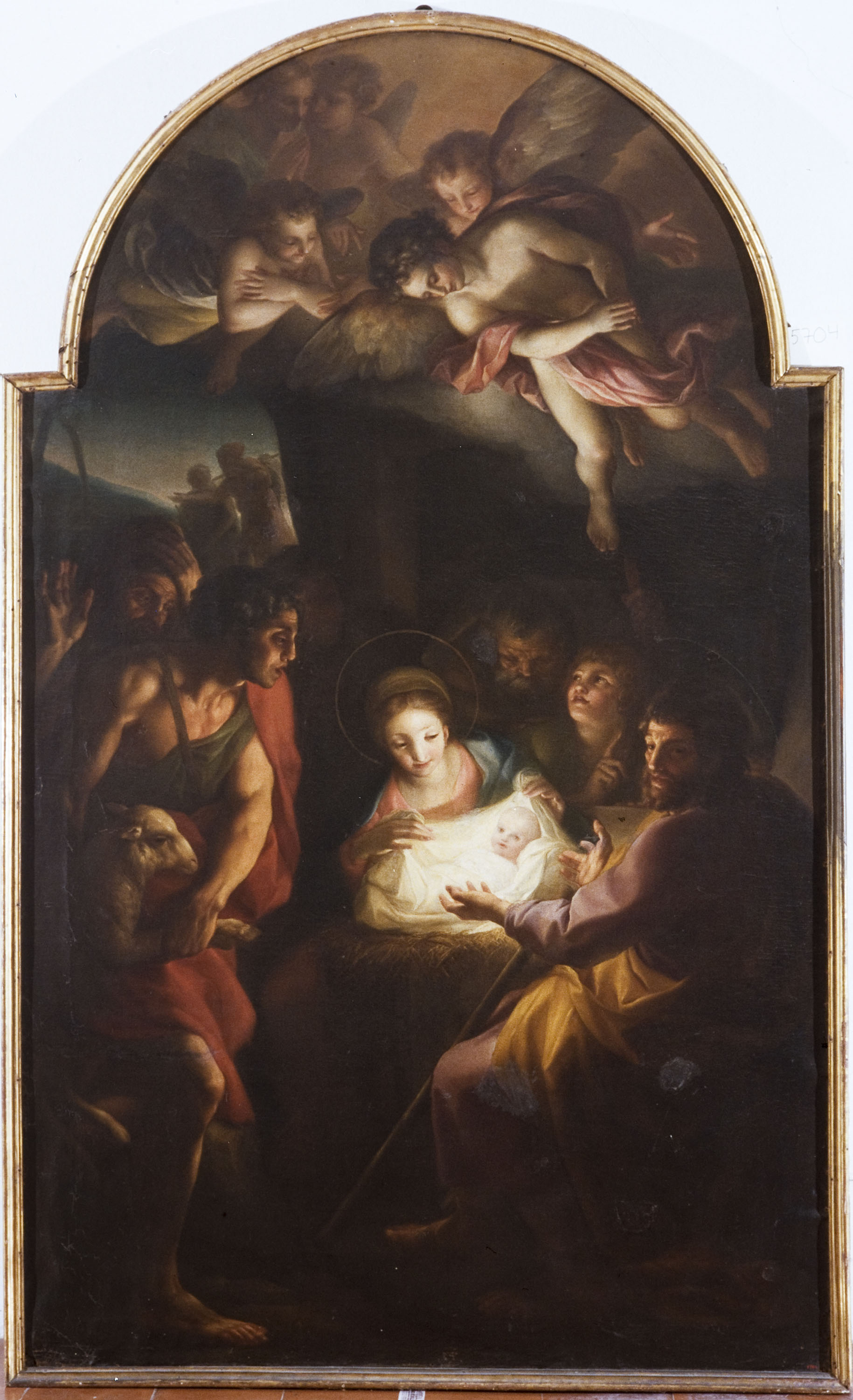 Carlo Giuseppe Ratti - Adoration of the Shepherds - 1773