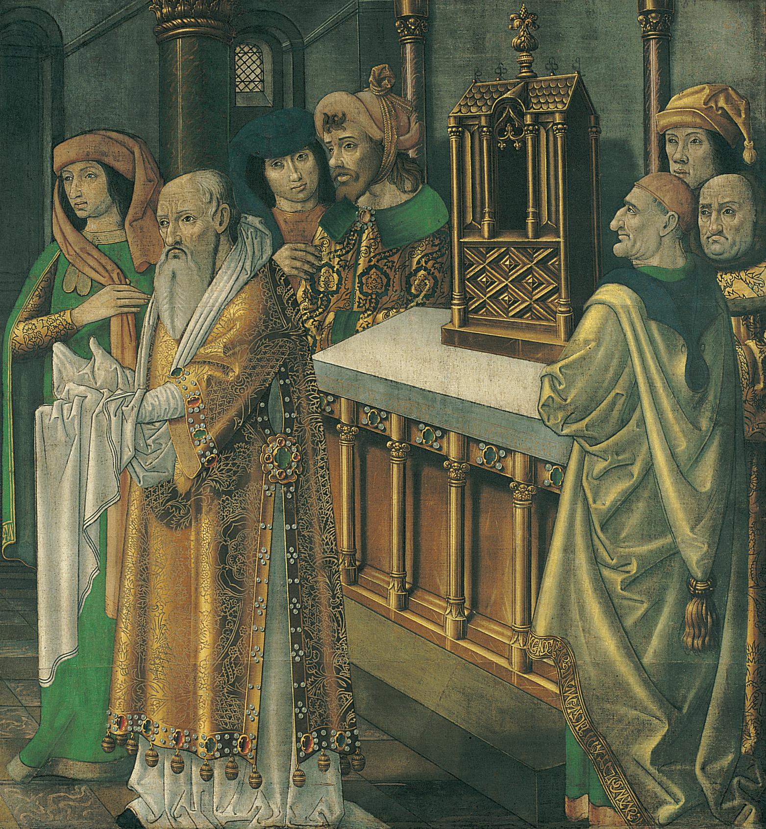 Mestre de la Seu d'Urgell - Presentació de Jesús al Temple - Cap a 1495-1498