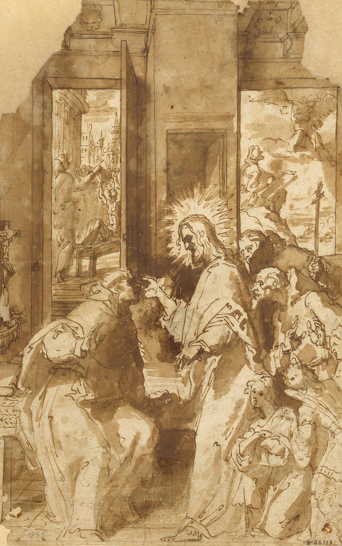 Francesc Ribalta - Aparició de Crist a sant Vicenç Ferrer - 1604