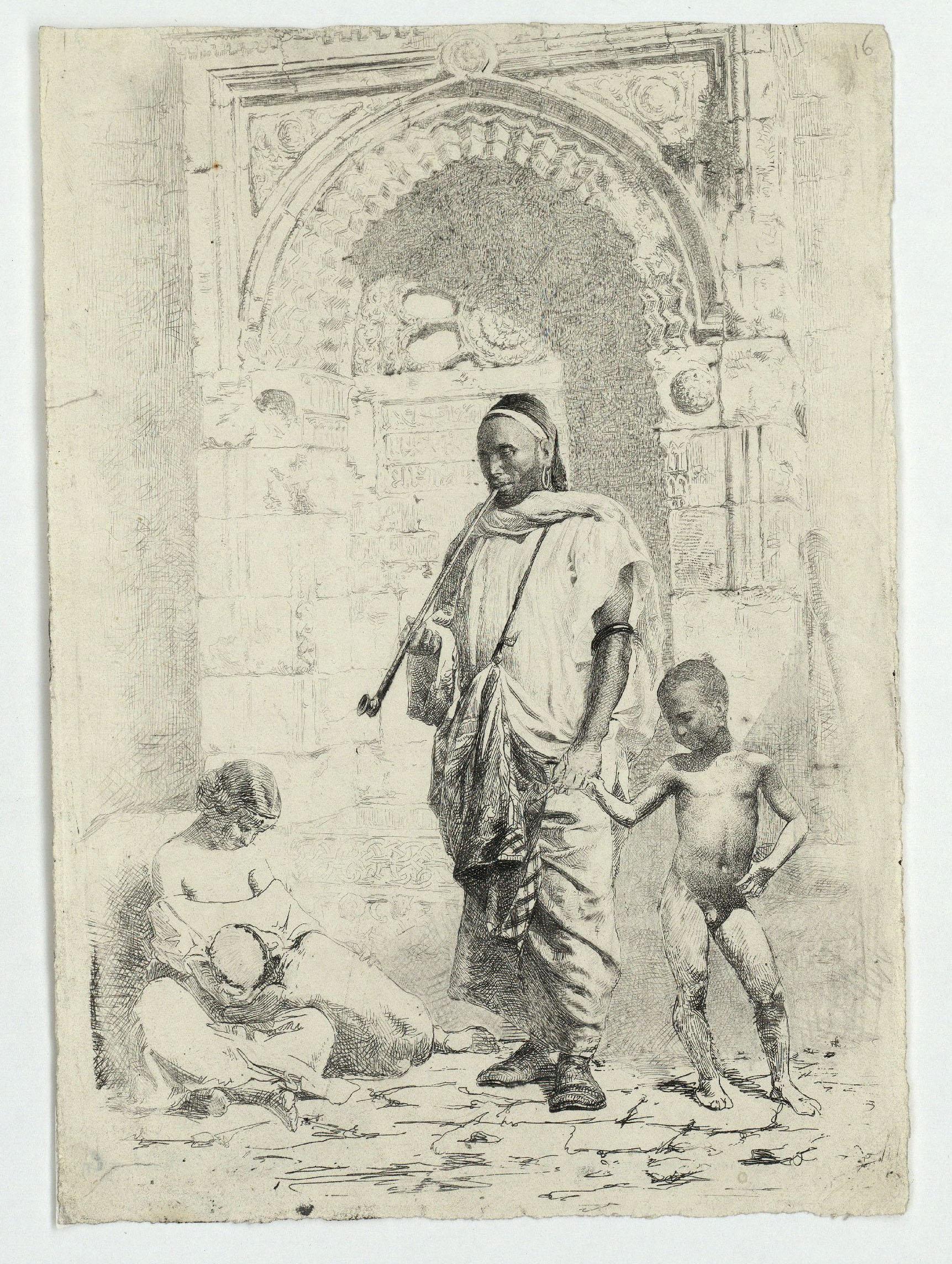 Marià Fortuny - Família marroquina - 1862