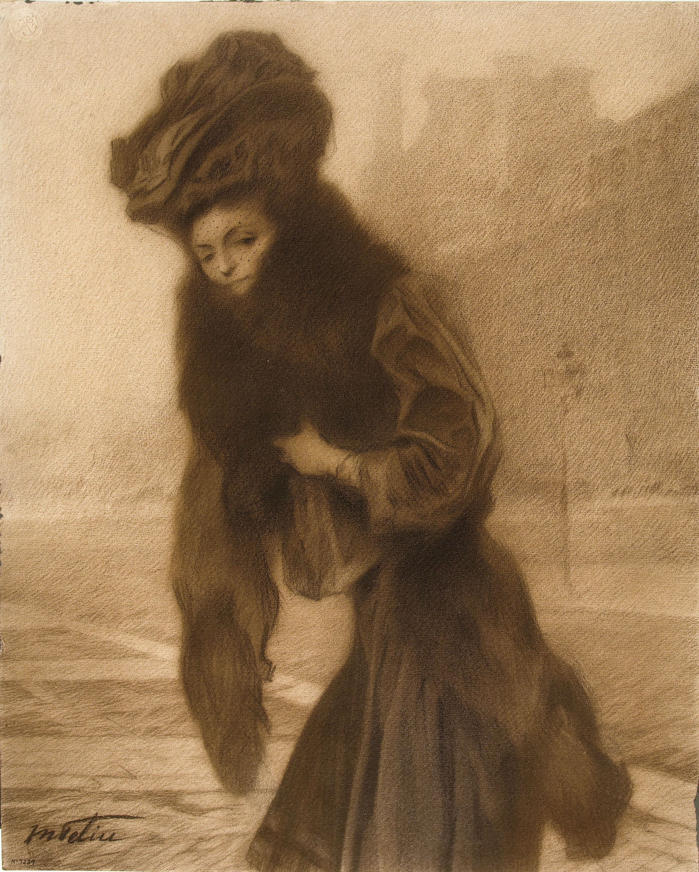 Manuel Feliu de Lemus - Estudio para un retrato femenino - 1907