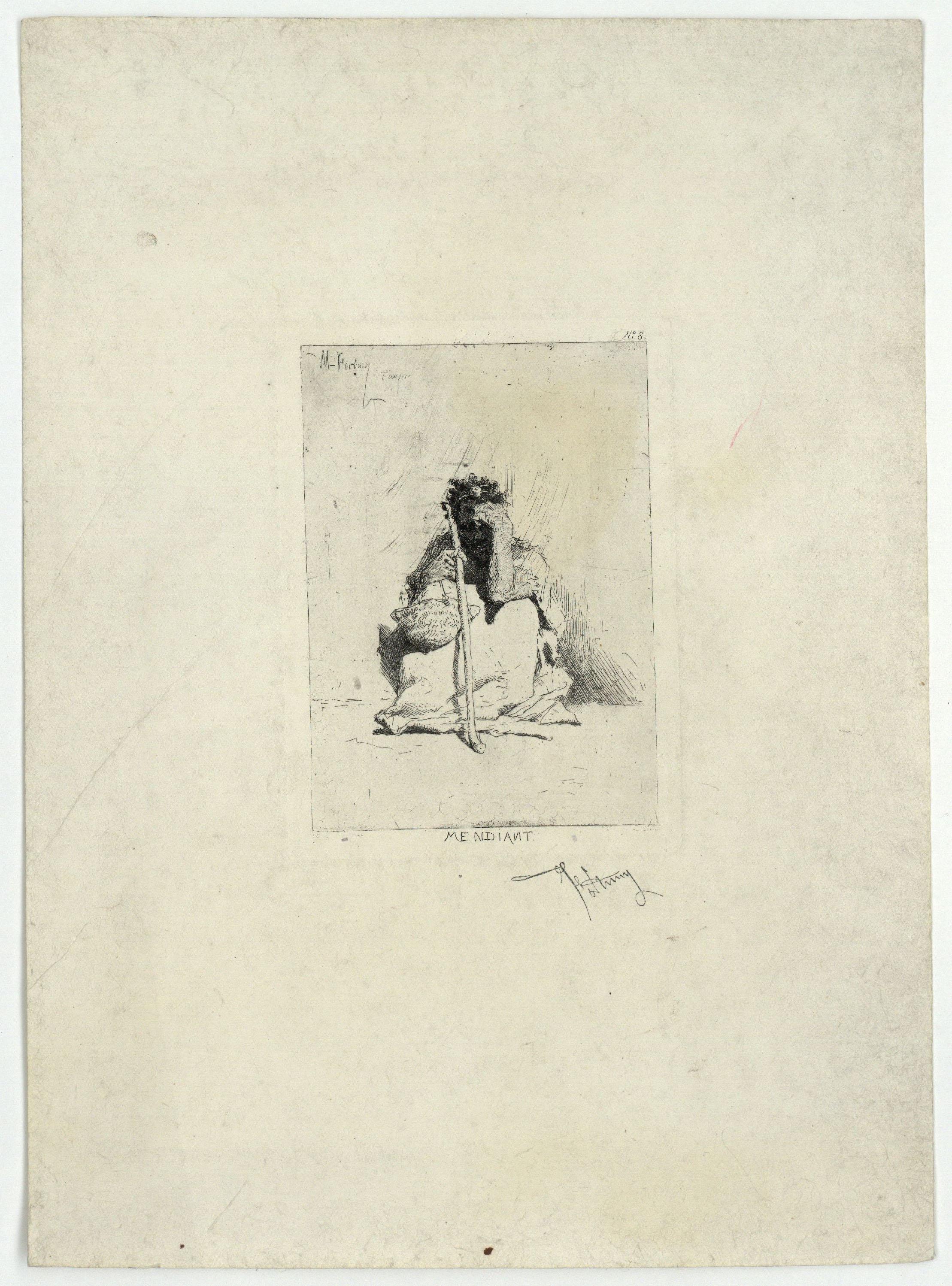 Marià Fortuny - Mendiant (Beggar) - After 1862