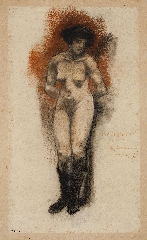 Armand Rassenfosse - Nu femení - 1907