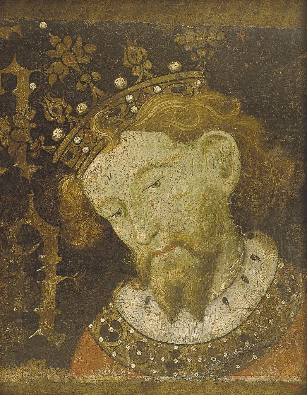 Jaume Mateu - Alfons II el Liberal - 1427