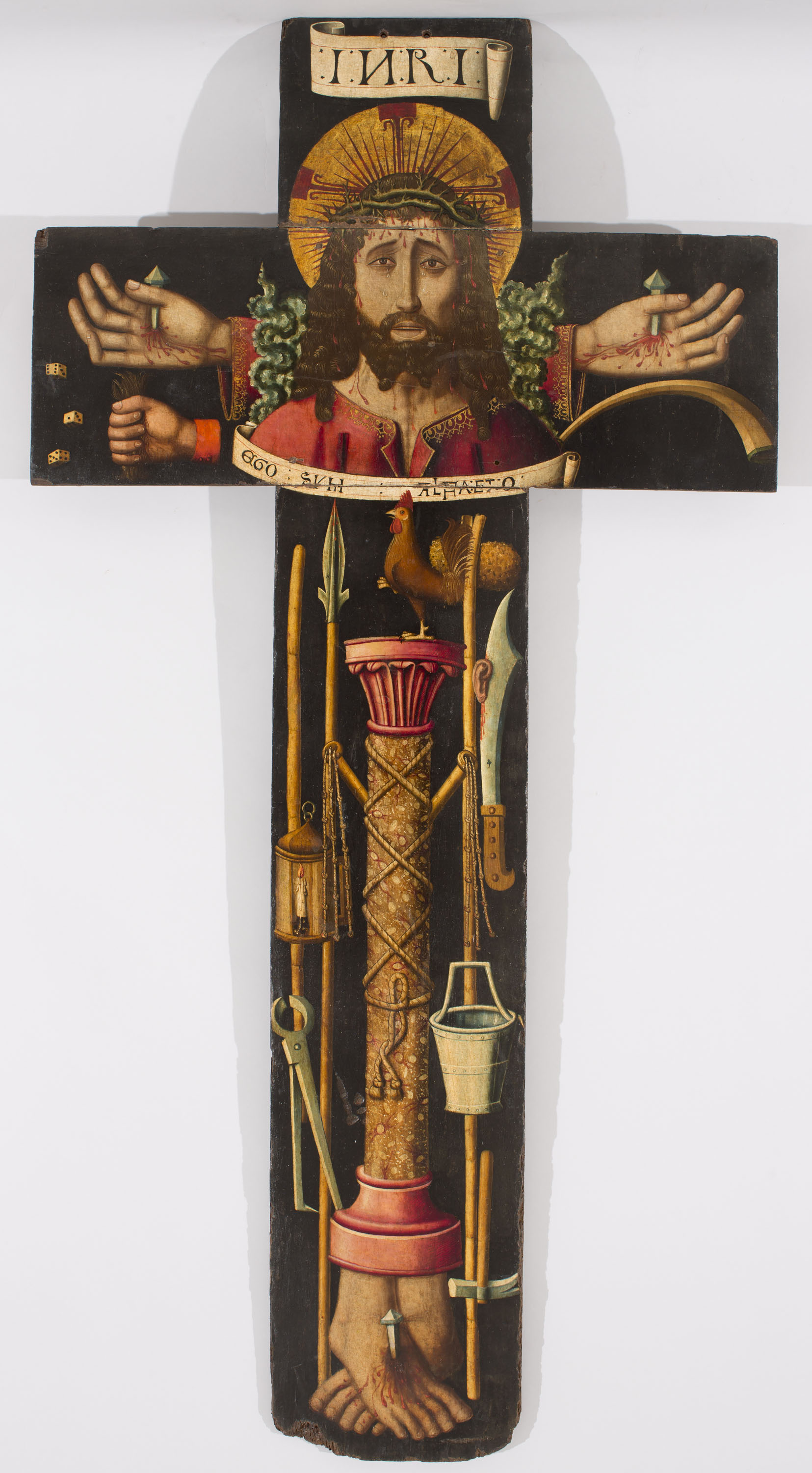 Martín Bernat - Processional cross with the bust of Christ and the Arma Christi - 1477-1505
