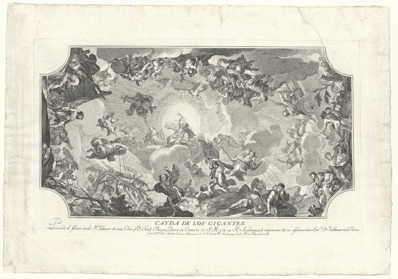 Manuel Salvador Carmona - Caiguda dels gegants - 1769