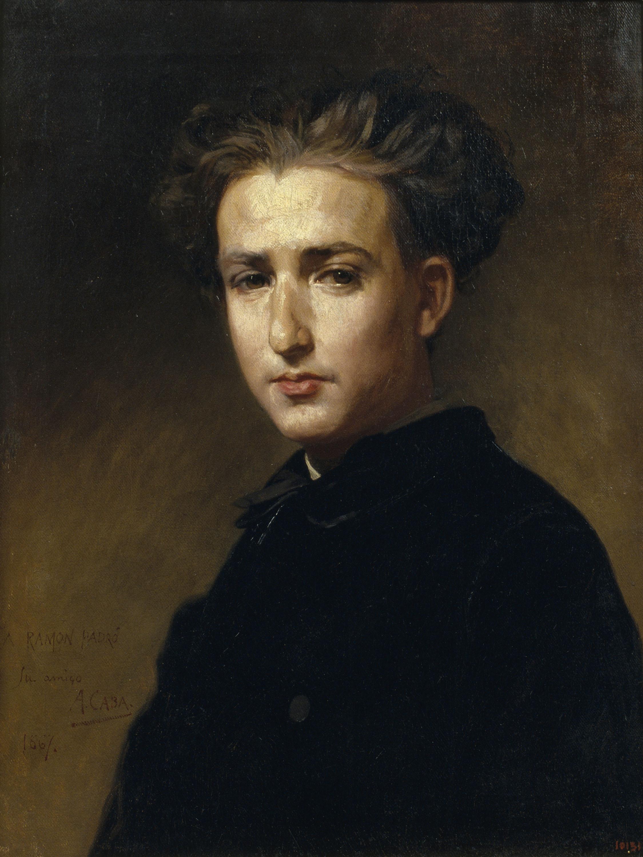 Antoni Caba - Retrat del pintor Ramon Padró - 1867