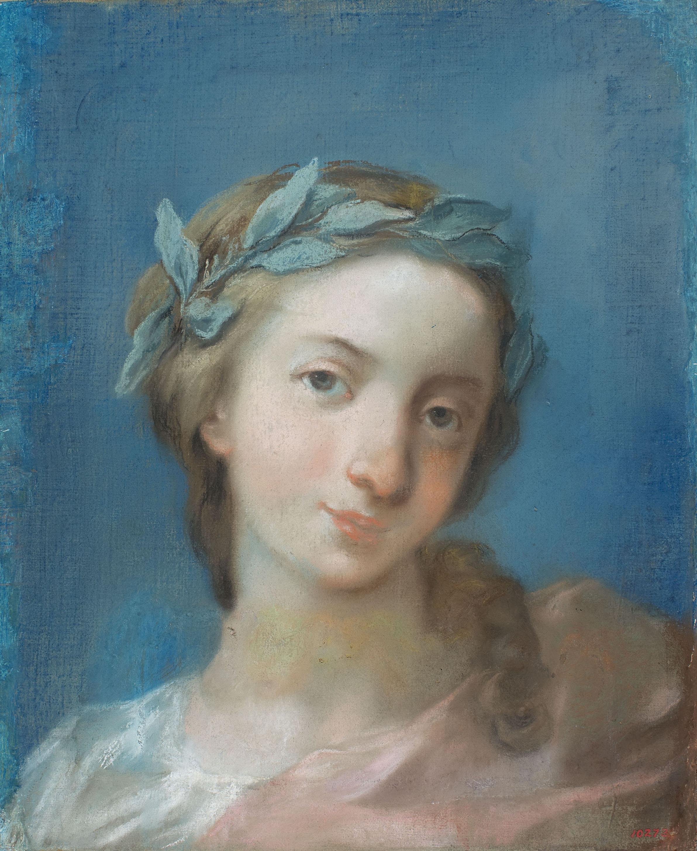 Josep Bernat Flaugier - Study of a female bust - Circa 1800-1812