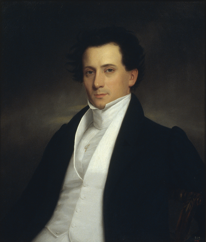 Anònim - Retrat de cavaller - 1830
