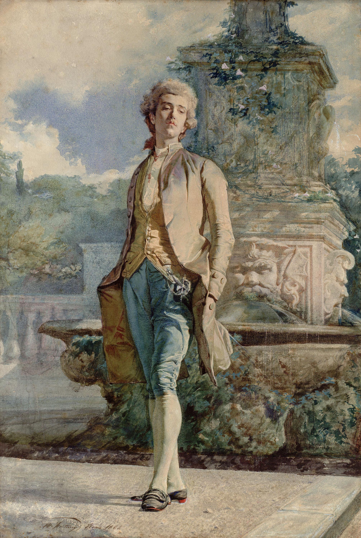 Marià Fortuny - Il contino - 1861