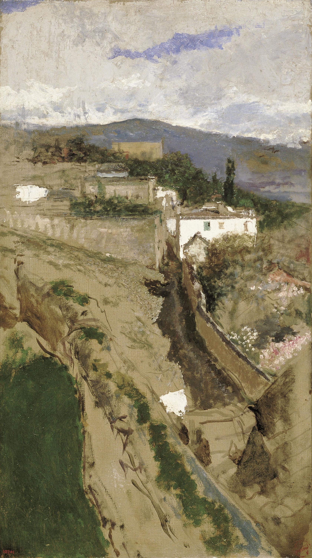 Marià Fortuny - Paisatge de Granada - Cap a 1871
