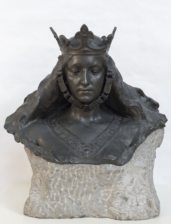 Eusebi Arnau - Bust de matrona representant Barcelona - 1897