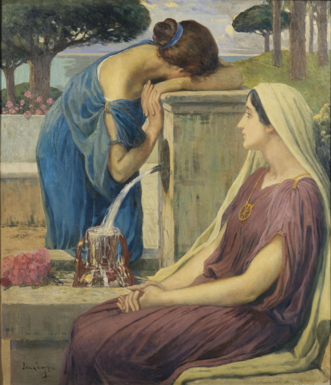 Joan Llimona - Conversion - Circa 1919