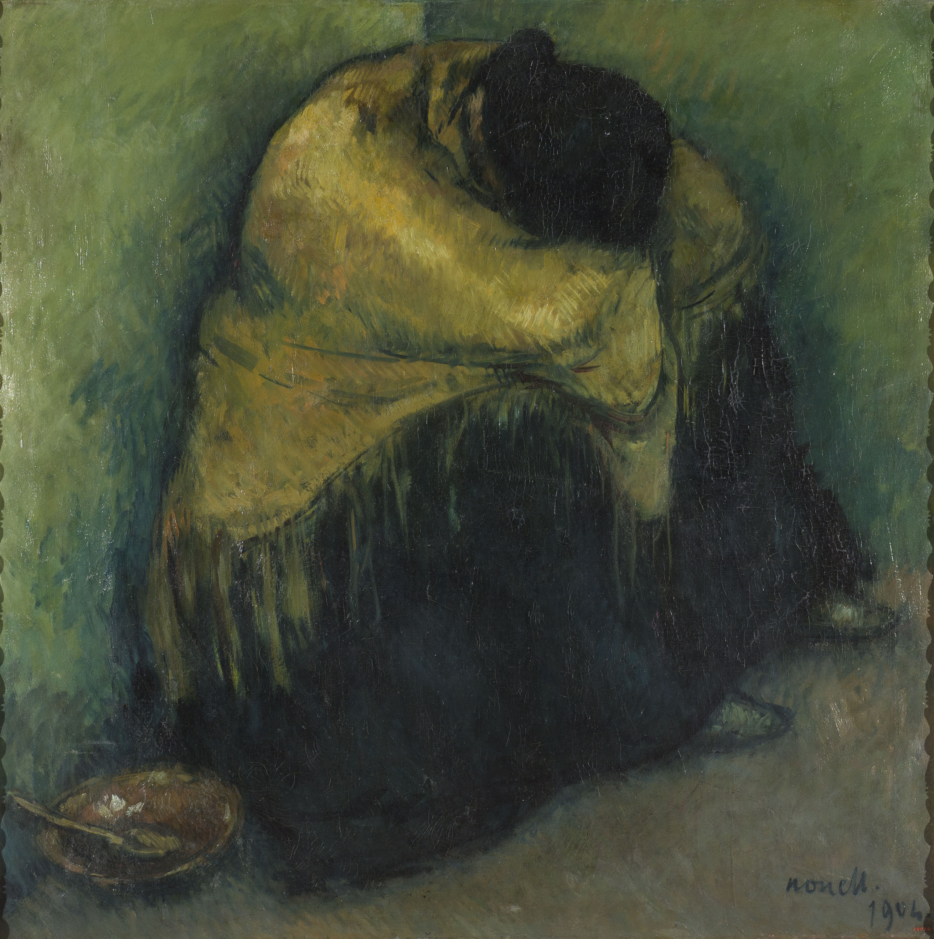 Isidre Nonell - Repòs - Barcelona, 1903-1904
