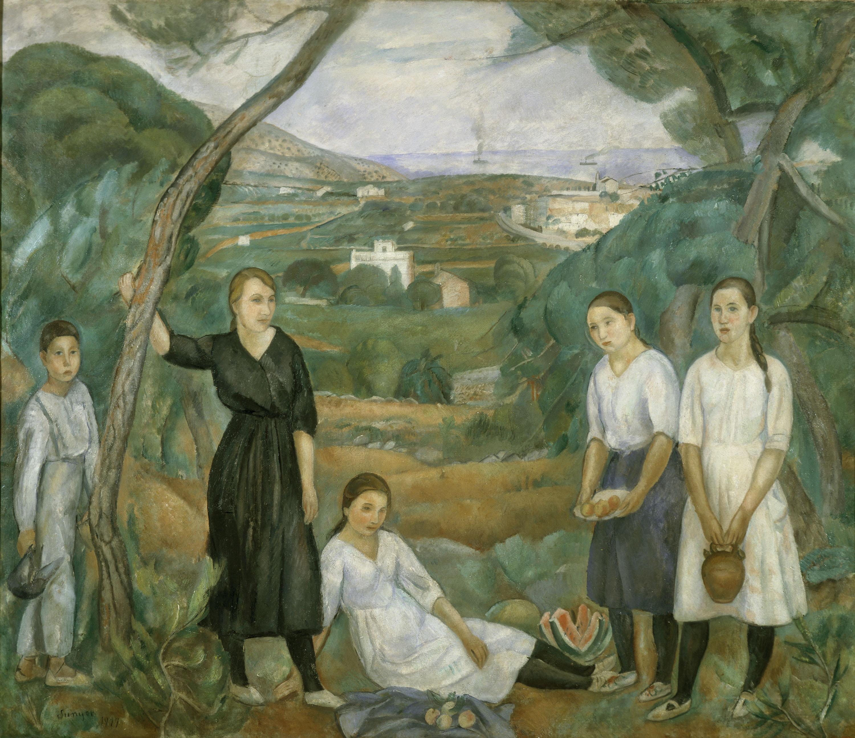 Joaquim Sunyer - Cala Forn - Sitges, 1917