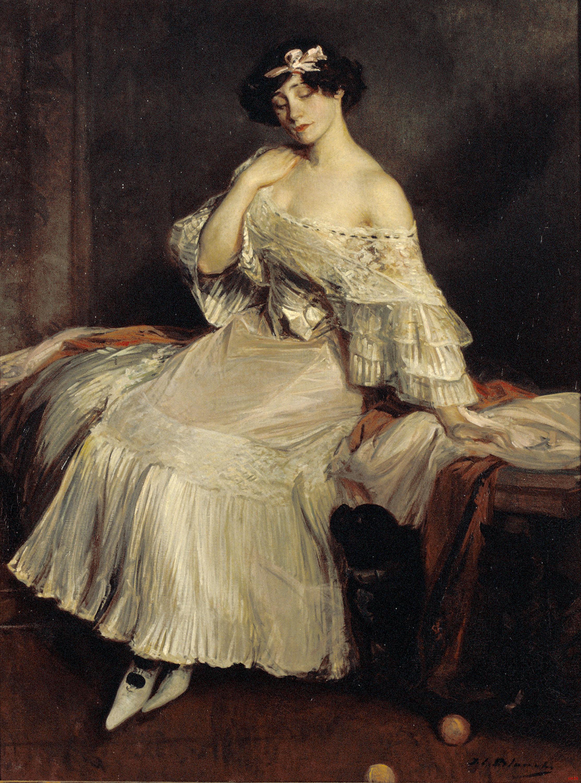 Jacques-Émile Blanche - Retrat de la novel·lista Colette - Cap a 1905