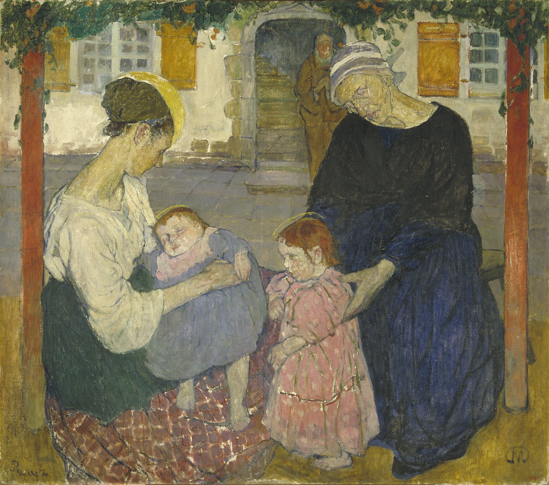Mela Muter - Santa Família - París, cap a 1909
