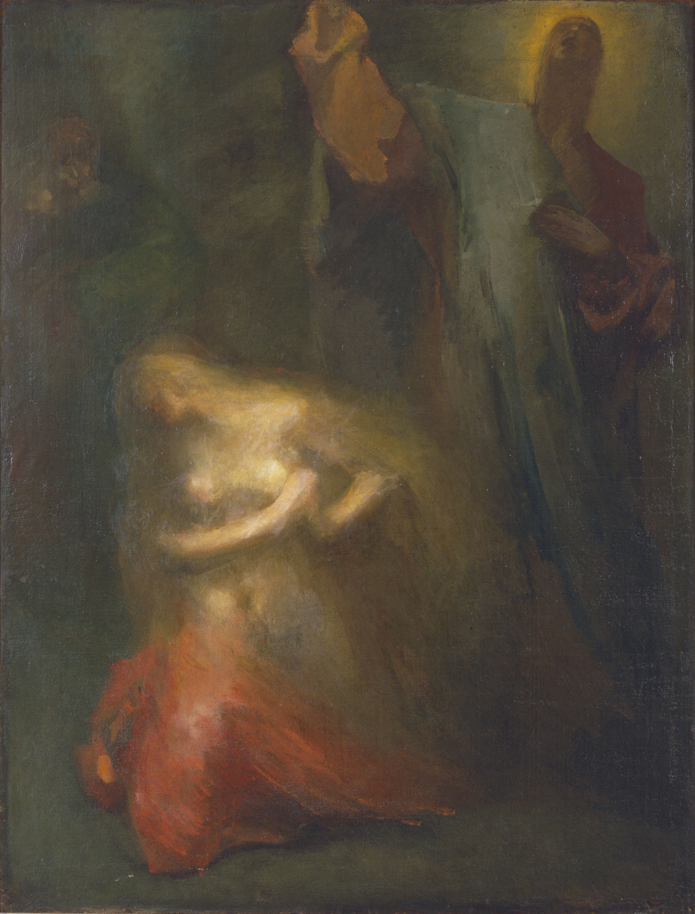 Aleix Clapés - Christ and Mary Magdalene  - Circa 1890-1918