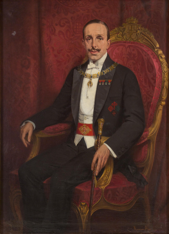 Portrait of King Alfonso XIII | Museu Nacional d'Art de ...