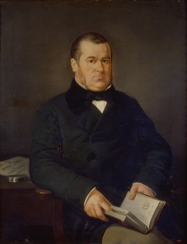 Marià Fortuny - Portrait of Francesc Esteve i Sans - Barcelona, circa 1853-1855