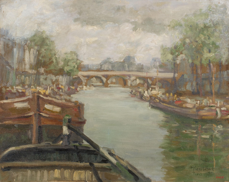 Pere Ysern - El Sena - París, 1907