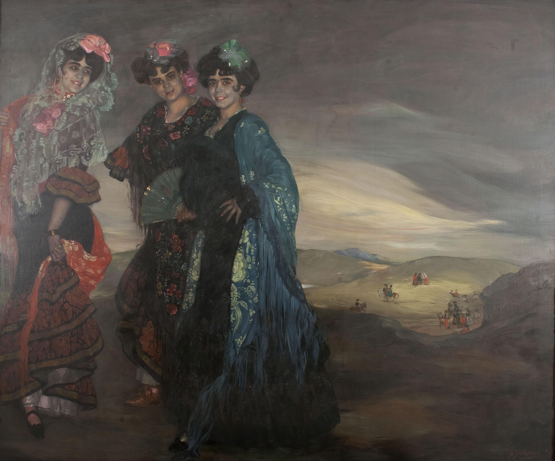 Ignacio Zuloaga - Mis primas - 1903