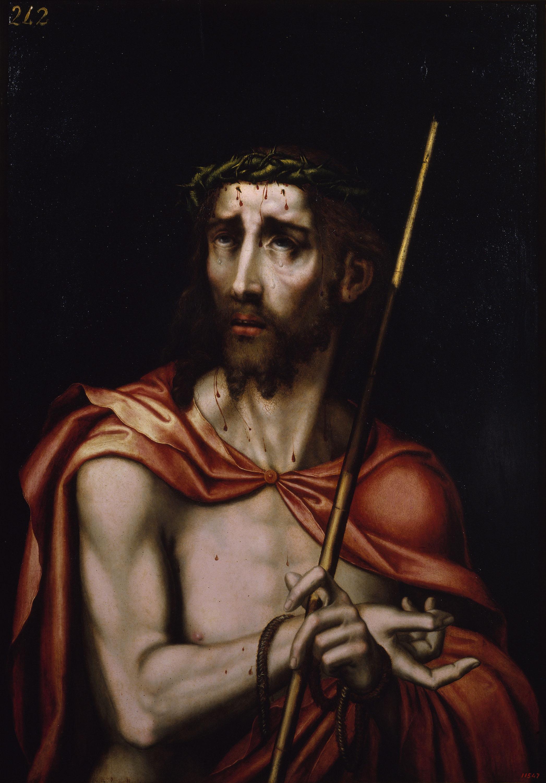 Luis de Morales (El Divino) - Ecce Homo - Entre 1570-1580