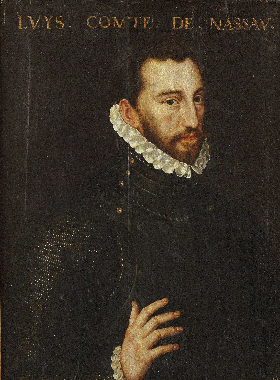 Adriaen Thomasz Key - Retrat de Lluís, comte de Nassau - 1570-1574