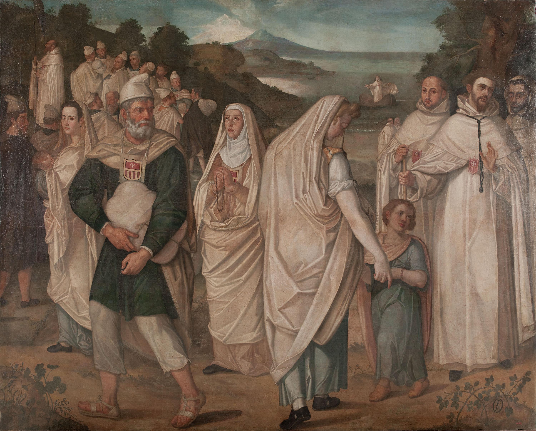 Francisco Pacheco - Desembarcament de captius redimits per sant Pere Nolasc - 1602