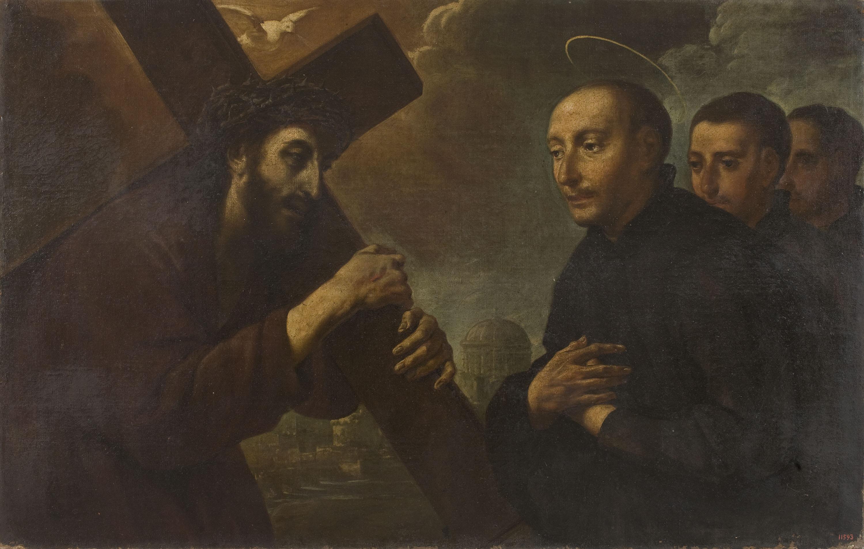 Antoni Viladomat - Aparició de Crist a sant Ignasi - Entre 1700-1755