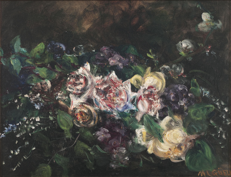 Maria Lluïsa Güell - Roses - Cap a 1921