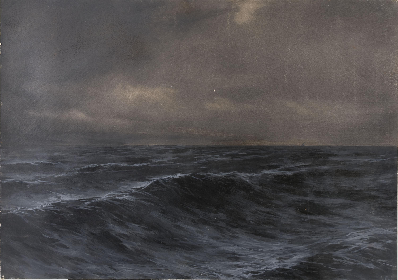 Antoni Fabrés - Preludi de tempesta - Cap a 1880
