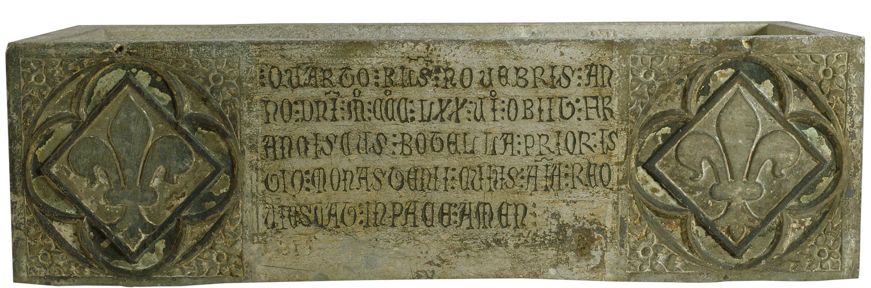 Anònim. Catalunya - Urna de fra Francesc Botella (mort el 1376) - Segona meitat del segle XIV