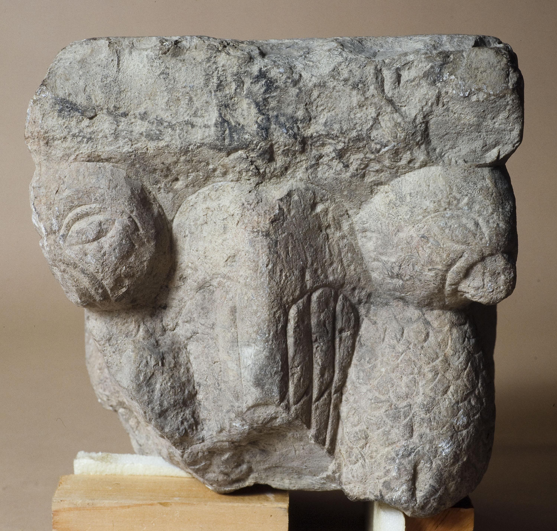 Anònim - Capitell de Sant Pere de Besalú - Cap a 1200