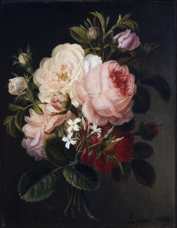 Francesc Lacoma i Fontanet - Ram de roses i gessamí - 1829