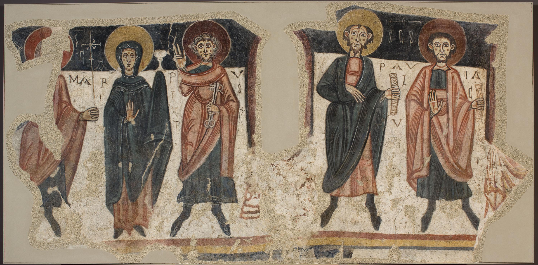 Mestre de Santa Coloma d'Andorra - Apostolat de Sant Romà de les Bons - Cap a 1164