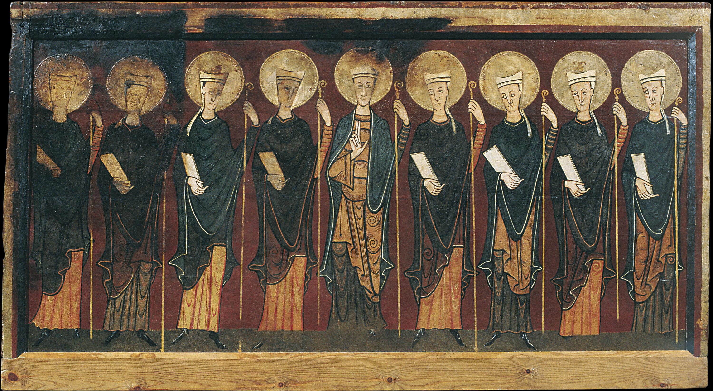 Anònim - Frontal d'altar de Tavèrnoles - Segona meitat del segle XII