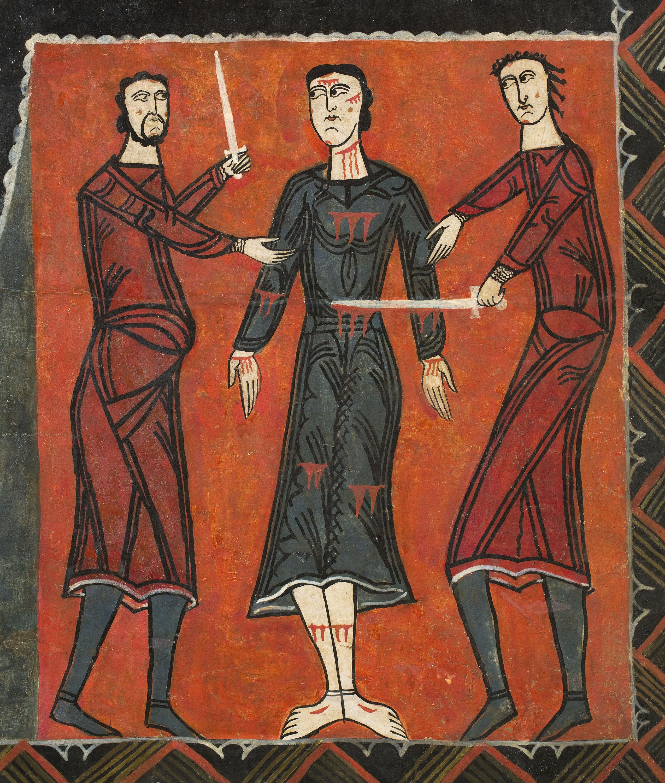 Anònim. Catalunya - Frontal d'altar de Durro - Mitjan segle XII [5]