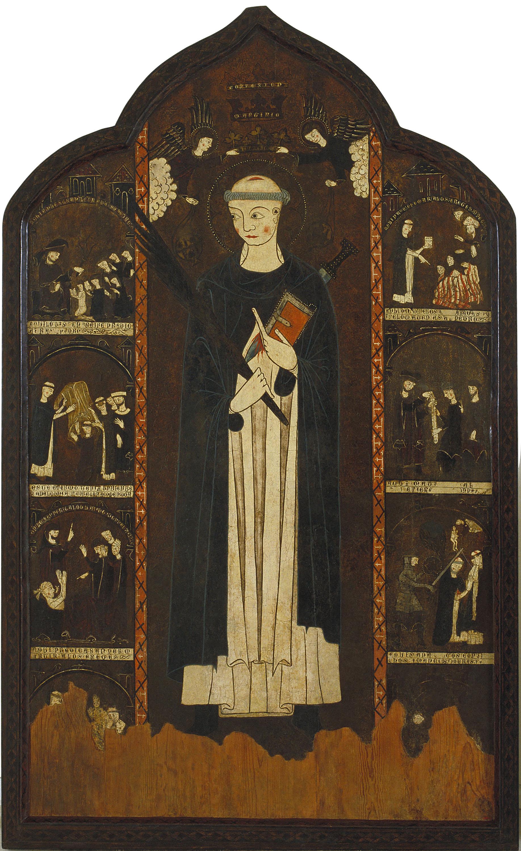 Anònim. Aragó - Retaule de sant Pere Màrtir - Primer terç del segle XIV