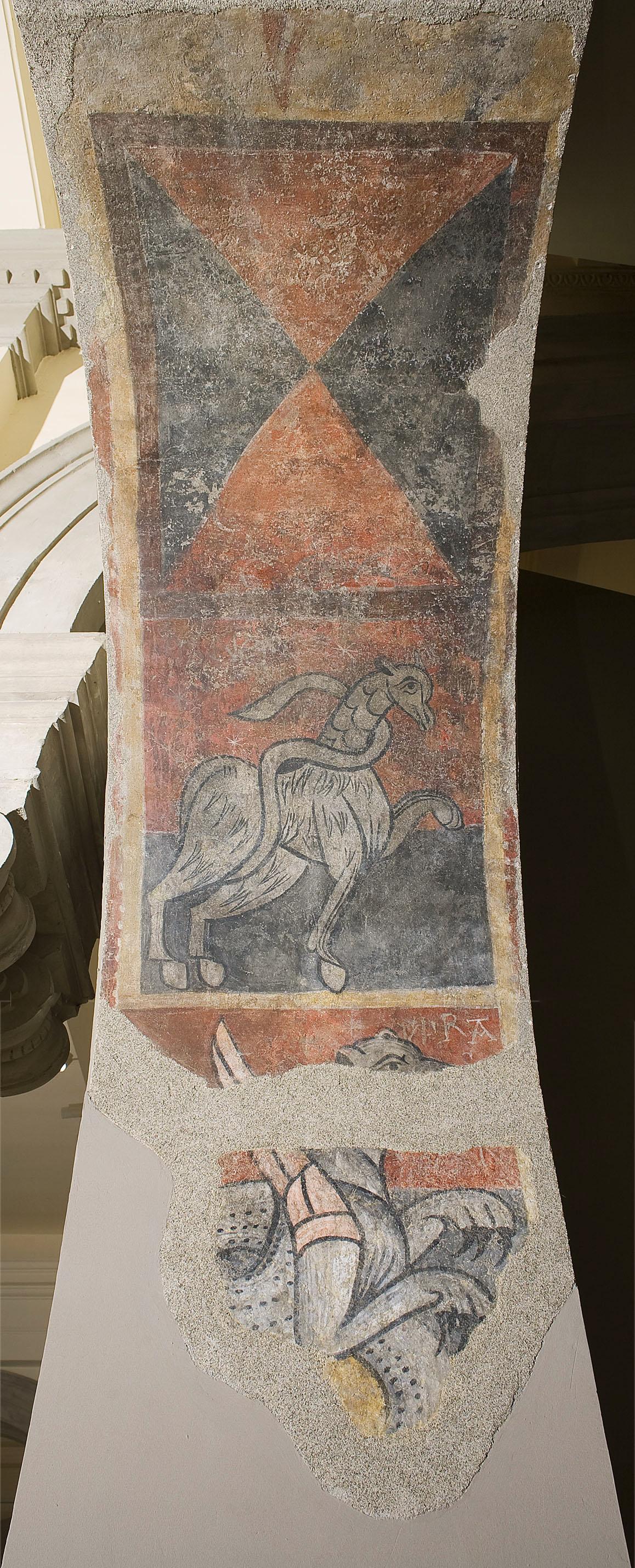 Mestre de Boí - VIPRA (drac) i altres animals de Sant Joan de Boí - Cap a 1100